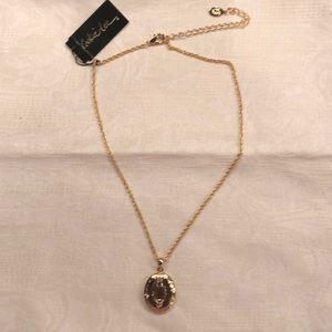 "Locket Necklace gold 16"""